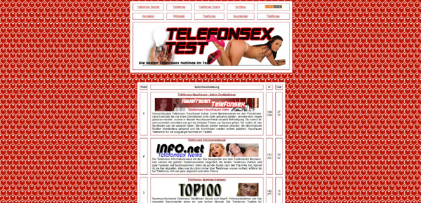 Telefonsex Test Top100
